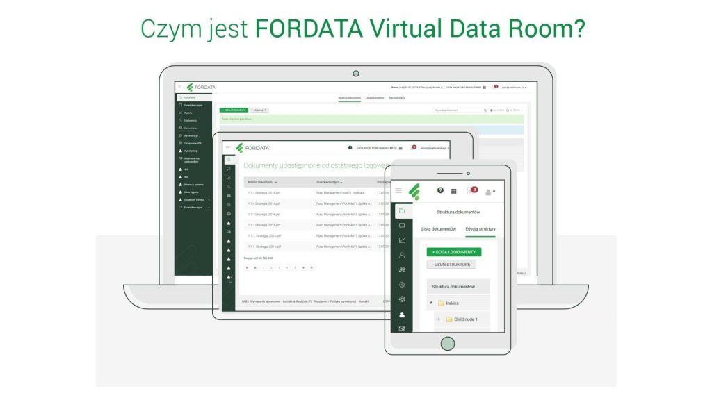 Fordata Virtual Data Room Czym jest FORDATA Virtual Data Room