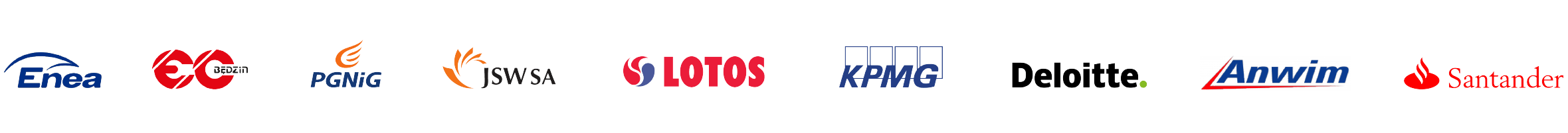 Logotypy Klientów z branży Energetyka