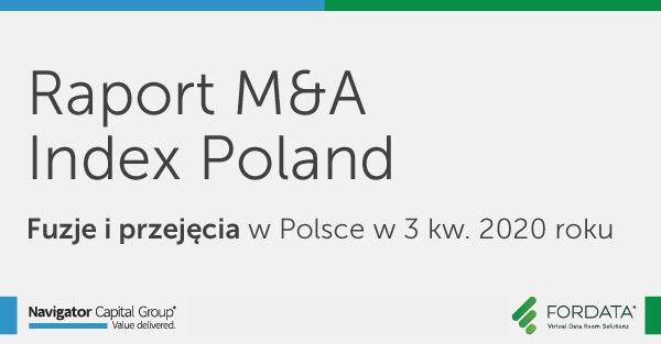 fuzje i przejęcia w Polsce